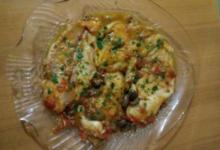 Filetti di Cernia con olive taggiasche e pomodorini