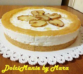 Cheesecake Ricotta e Pere – senza cottura