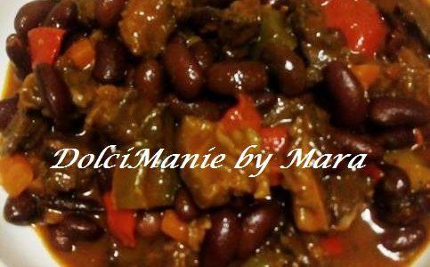 Chili piccante con Carne di manzo