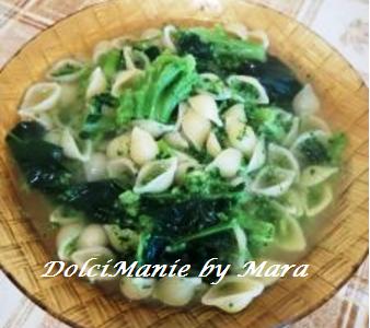 Conchigliette e Broccoli a Minestra