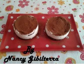 Mini Cheesecake Mascarpone e Nutella