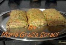 Rotolo di Carote e Zucchine Farcito