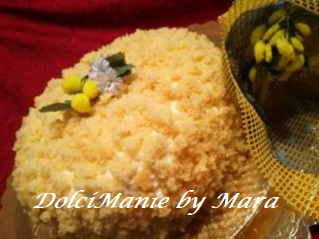 Torta Mimosa con Crema Diplomatica | Dolci Manie in Cucina