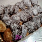 Ventagli di sfoglia – cocco e cioccolato