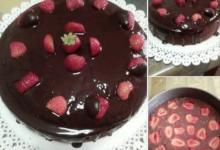 Torta al Cioccolato e Fragole – Ricetta