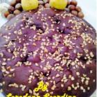 Torta al cioccolato fondente con pere e nocciole