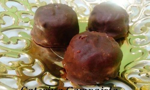 Tiramisù Bon Bon Glassati al Cioccolato