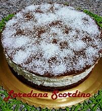 Cheesecake Fredda Cocco e Cioccolato