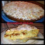 Crostata con Amaretti e Crema Pasticcera