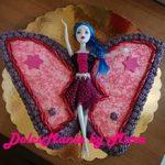 Torta Farfalla Monster High - ricetta
