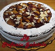 Torta Integrale alla Vaniglia con Marmellata di Ribes
