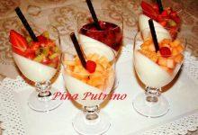 Panna Cotta alla Frutta in Bicchiere