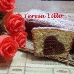 Plum Cake con Cuore a Sorpresa