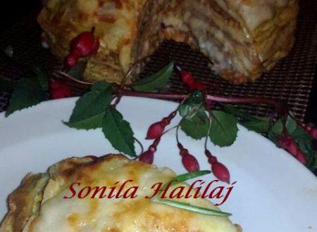 Torta di Crepes Salata Farcita