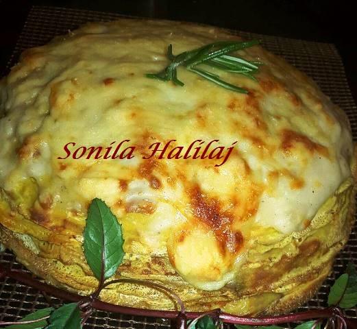 torta di crepes salata