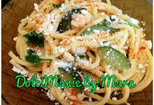 Bucatini con Zucchine e Gamberetti