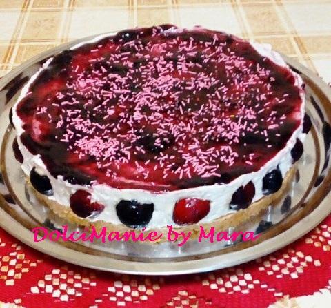 Cheesecake alle Ciliegie – Senza Cottura