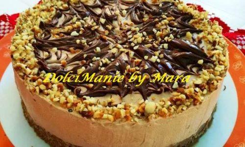 Cheesecake Nutellotta con Granella di Nocciole