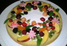 Crostata Morbida con Crema e Frutta