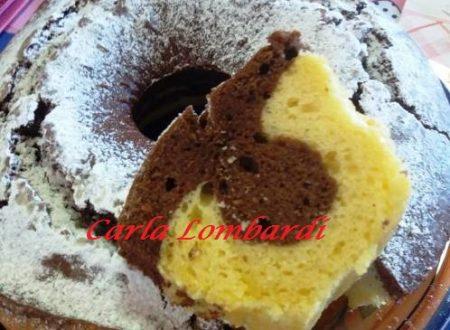 Ciambellone Bicolore – Vaniglia e Cacao