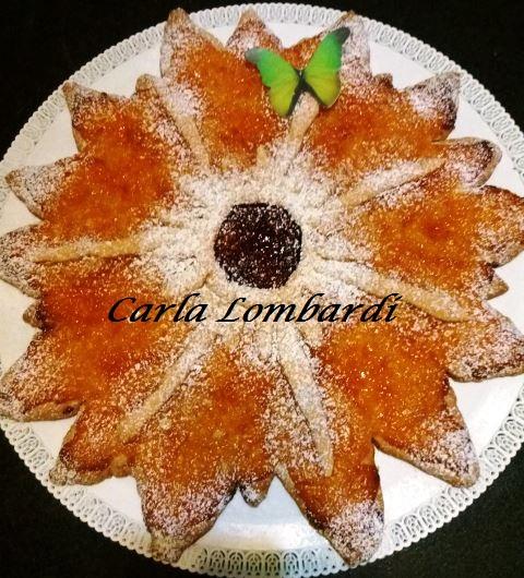 Crostata Fiore con Marmellata