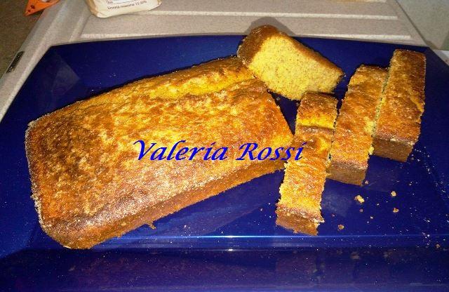 plumcake all'arancia con farina integrale