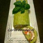 Rotolo di Zucchine con Ricotta e Salmone Fumè
