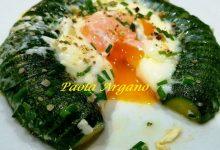 Uovo all'Occhio di Bue con Zucchine al Vapore