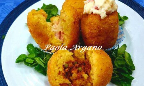 Arancine Siciliane al Burro e al Ragù