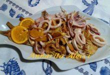 Insalata di Calamari all'Arancia