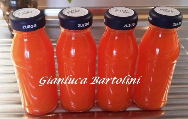 succo di carote e limone