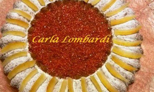 Torta All'Arancia Con Essenza e Scorzette Candite