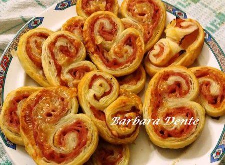 Ventagli Salati di Pasta Sfoglia
