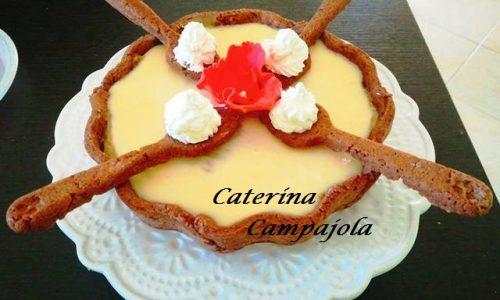 Crostata Pentolino con Crema Pasticcera