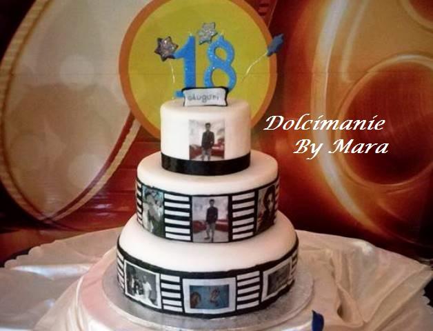 torta 18esimo compleanno