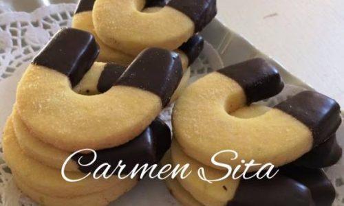 Biscotti al Burro e Cioccolato Fondente