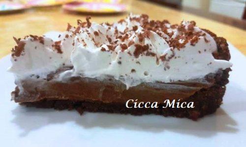 Crostata Cioccolato e Panna