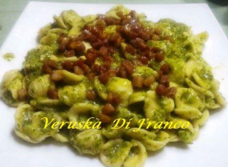 Orecchiette Fresche con Broccoletti e Pancetta