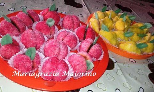 Pesche e Limoni dolci con Nutella e Crema Limone