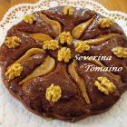 Torta Cioccolato Pere e Noci