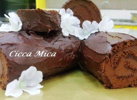 Tronchetto al Cioccolato e Mascarpone