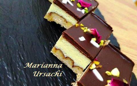 Mattoncini di Ricotta e Cioccolato Fondente