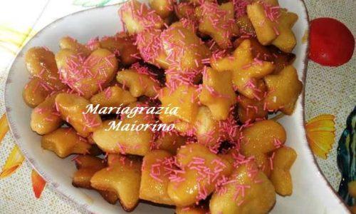 Struffoli Napoletani – Stelline e Cuoricini
