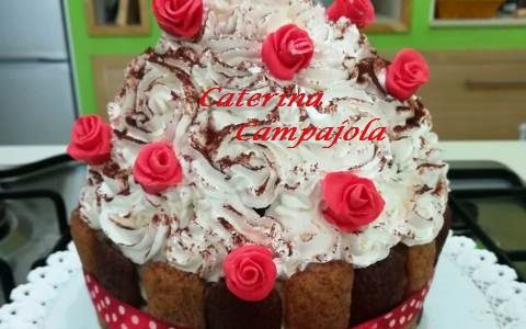 Tiramisù Cup Cake Gigante