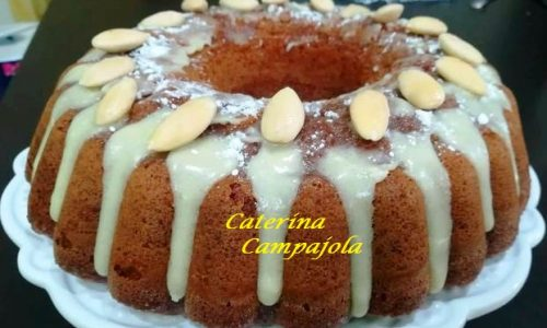 Almond Chocolate Cake – Ricetta