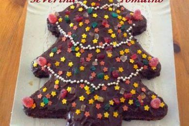 Torta Albero di Natale – Arancia e Cioccolato