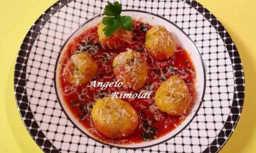 Gnocchi Giganti di Zucca e Patate al Pomodoro