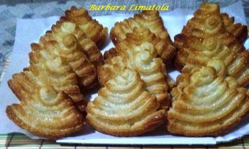 Palmine di Pasta Sfoglia Dolce