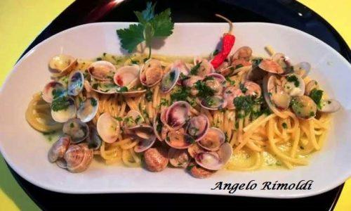 Spaghetti con Lupini Freschi