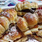 Brioches Soffici Nutella e Marmellata